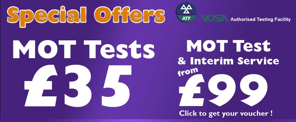 MOT Test Deals