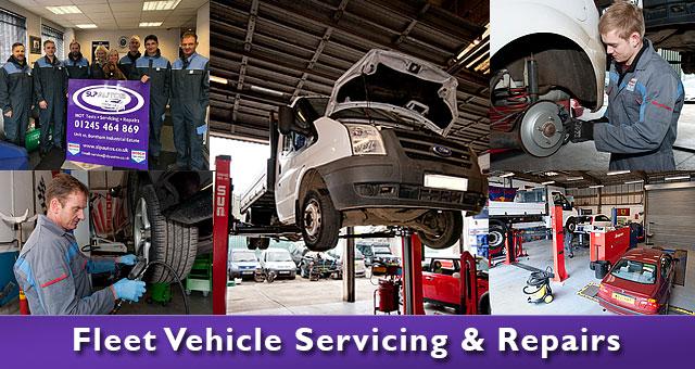 Fleet servicing