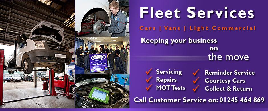 Fleet Servicing and Repairs