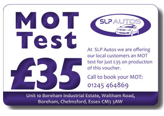 MOT Test for £35