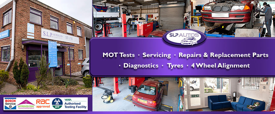 SLP Autos of Boreham, Chelmsford - Garage services and MOT Test Centre