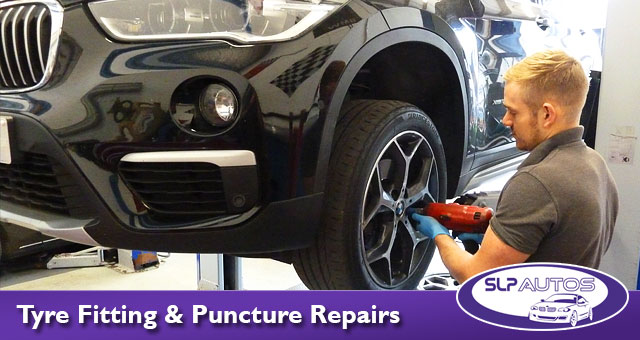 Replacement tyre fitting and puncture repairs